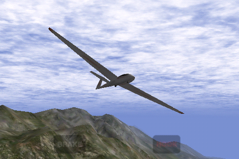 Screenshot X-Plane Glider