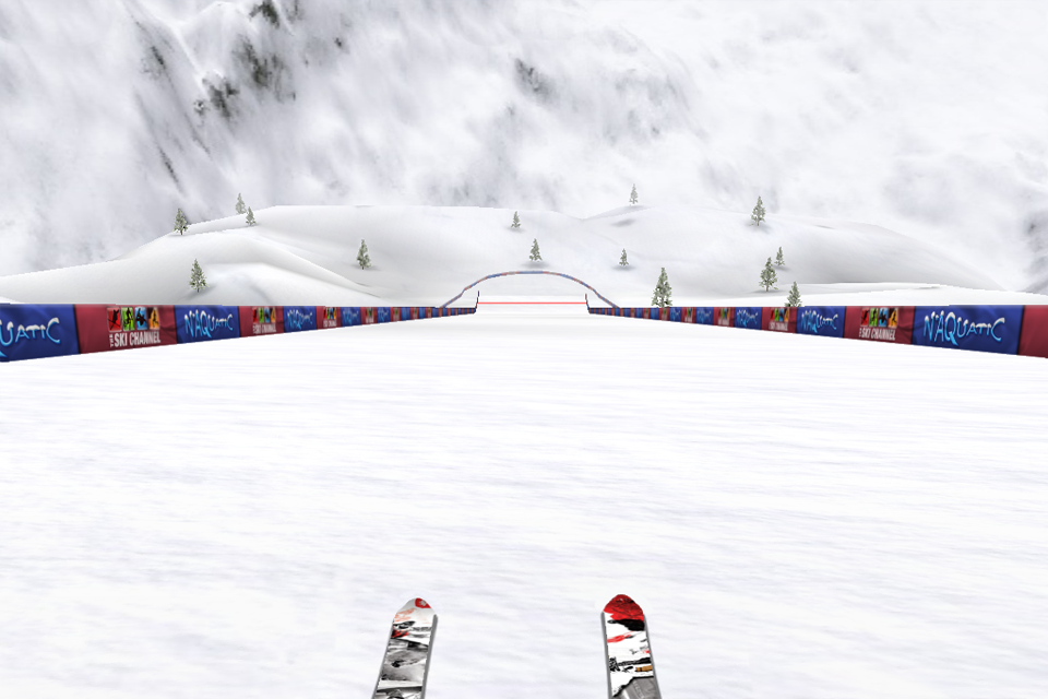 Screenshot The Ski Channel: Touch Ski 3D Full